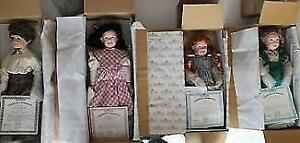 Ashton Drake Dolls - Anne of Green Gables Collection (4 dolls)