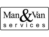 Friendly Man and Large Van