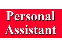 Full Time/Part Time Personal Assistant required and looking to take on an apprentice