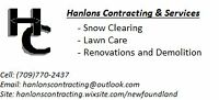 Hanlon's Contracting & Services - Great Quality Work