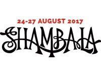 1 x adult Shambala ticket £250 ONO