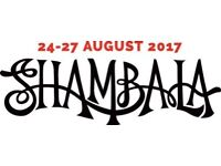 1 X Large Campervan pass Shambala 2017 ONO