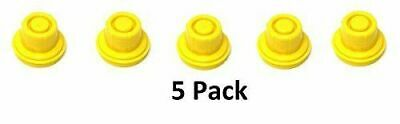 5 Pk Jsp Replacement Yellow Gas Can Spout Cap Top For Blitz 900094 900092 900302