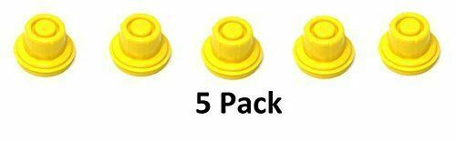 5 PK JSP Replacement Yellow Gas Can Spout Cap Top For Blitz 900094 900092 900302