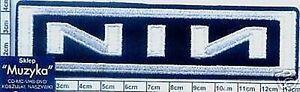 NIN - embroidery patch, aufnäher, naszywka-wprasowanka #150 N - <span itemprop=availableAtOrFrom>Bydgoszcz, Polska</span> - only for buyers from Poland /// zwroty uwzgledniane tylko dla kupujacych z Polski /tylko w przypadku stwierdzenia wady fabrycznej przedmiotu. Przyjmuję zwroty w ramach odstąpienia od umowy za - Bydgoszcz, Polska