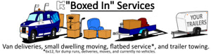 'BOXED IN' Small Dwelling Moving & Deliveries