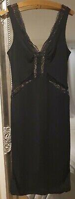 Dolce Gabbana Vintage Crepe Dress 46/32 14  ( 12)