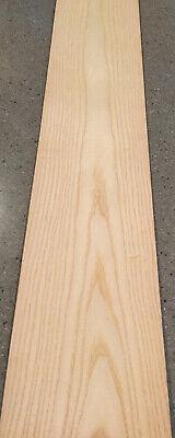 Ash Wood Veneer 6 Sheets 39 X 7 11 Sq Ft