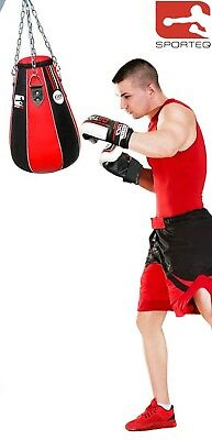 Sporteq Gefüllte Mais Boxsack Boxhandschuhe Kette (Gefüllte Mais)