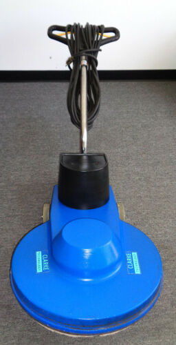 """CLEAN 20"""" HIGH SPEED FLOOR BUFFER BY CLARKE ALTO, USED, EASY TO TRANSPORT, #12A"""