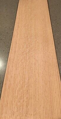 Red Oak Wood Veneer - Heavy Flake 5 Sheets 36 X 9 11 Sq Ft