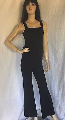 Riller & Fount size 1 Womens Black Sleeveless Jumpsuit NWOT