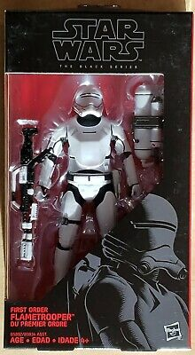 "Star Wars Black Series First Order Flametrooper 6"" Action Figure Toy"