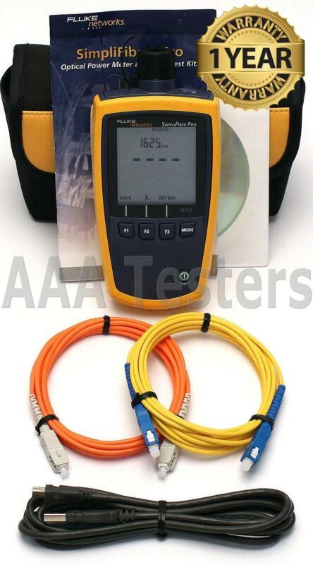 Fluke Networks SimpliFiber Pro SM MM Fiber Optic Power Meter SFPOWERMETER
