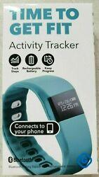 GEMS Your Fitness Bluetooth Watch App Tracks Fitness Activity Data & Sleep Teal