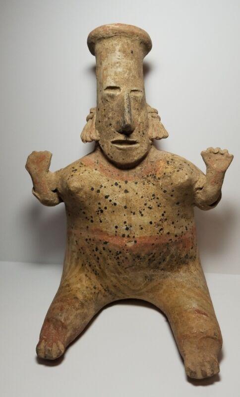 Pre-Columbian pottery Jalisco woman . 300 - 600 A.C.