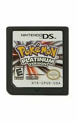 Addictive New Pokemon: Platinum Game Card only for DS/ 3DS/DSI NDS NDSL Lite
