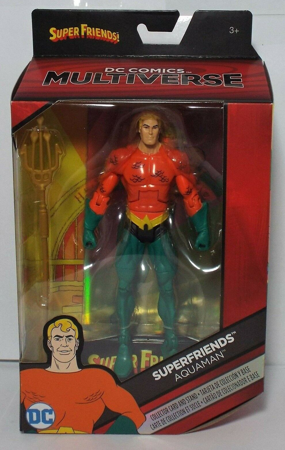 DC Comics Multiverse Super Friends Aquaman Action Figure