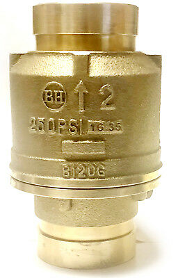 2 Grooved Check Valve 250 Psi Spring Loaded Fire Protection Pumps Ulfm
