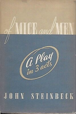 Of Mice And Men  The Play  By John Steinbeck Rare First Edition