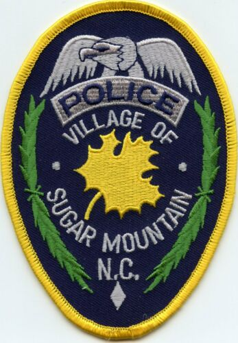 SUGAR MOUNTAIN NORTH CAROLINA NC POLICE PATCH