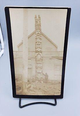Totem Pole, Alaska Boudoir Card by E Geoff