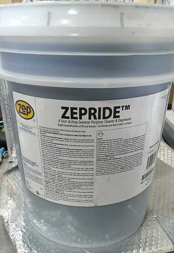 Zep Cleaner Degreaser Container Size Pail Cleaner Container 5 Gallons ~ 56735