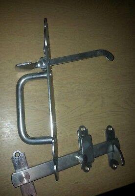 316 Stainless Steel Heavy Gothic Suffolk Latch door gate catch thumb rustproof