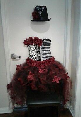 DIA DE LOS MUERTOS,day of the dead, corset costume Size M-L