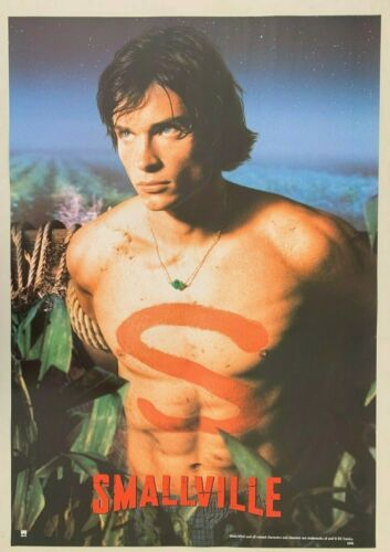 SUPERMAN,SMALLVILLE,CLARK KENT, AUTHENTIC 2001 POSTER