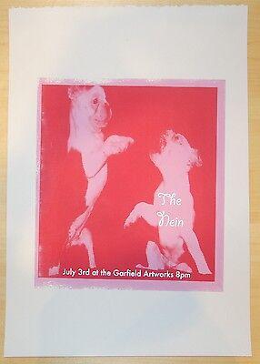 2005 The Nein - Pittsburgh Silkscreen Concert Poster by Strawberryluna