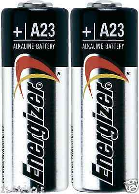 2 NEW A23 Energizer BULK Battery 12v Batteries GP23 23A MN21 USA Seller