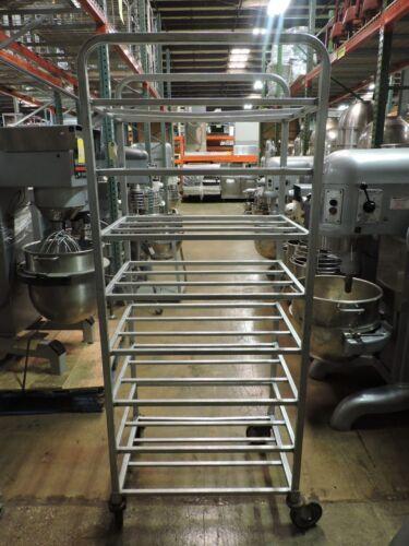 Commercial Aluminum 8-Tier Double Meat Cart