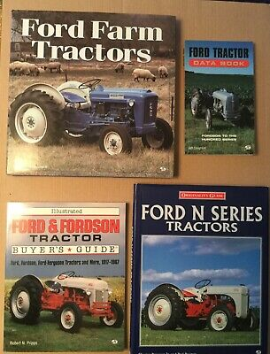 Ford Farm Tractor Buyers Guide Ford N Series And Ford Data Book - Set Of 4