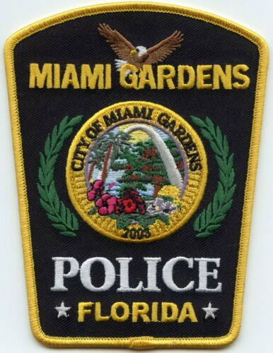 MIAMI GARDENS FLORIDA FL POLICE PATCH