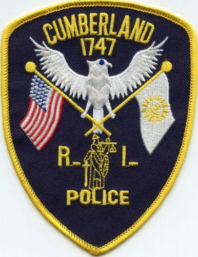 CUMBERLAND RHODE ISLAND RI POLICE PATCH