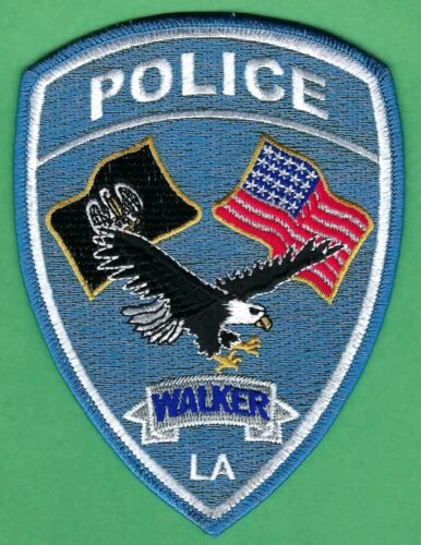 WALKER LOUISIANA POLICE SHOULDER PATCH