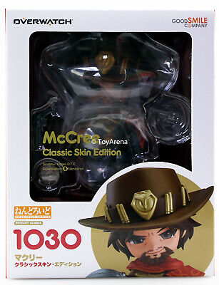 Nendoroid 1030 Jesse McCree: Classic Skin Edition Overwatch AUTHENTIC IN STOCK