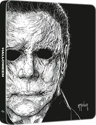 Halloween (2018)(SteelBook)(4K Ultra HD)(UHD)(DTS:X)(Pre-order / Aug 13)