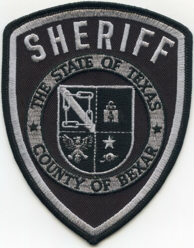 BEXAR COUNTY TEXAS TX subdued SHERIFF POLICE PATCH