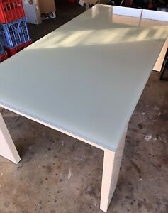 Large Glass Table and Coffee Table
