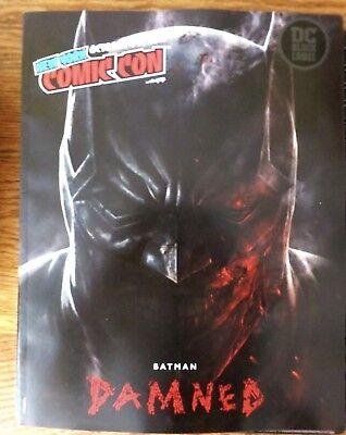 NYCC New York Comic Con 2018 program Batman Damned Lee Bermejo