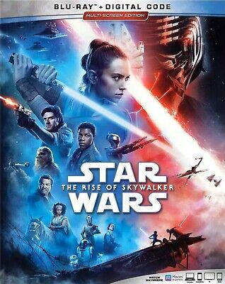 STAR WARS THE RISE OF SKYWALKER(BLU-RAY+DIGITAL)NEW PRE-ORDER SHIPS 03/31/2020