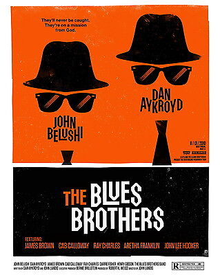 The Blues Brothers - Movie Poster 8x10 Color Photo