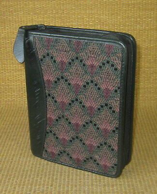 Compact 1.25 Rings Green Leathertapestry Franklin Coveyquest Plannerbinder
