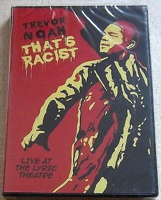 Trevor Noah Thats Racist Region 2 South Africa Does Not Play In Usa Dvd Players