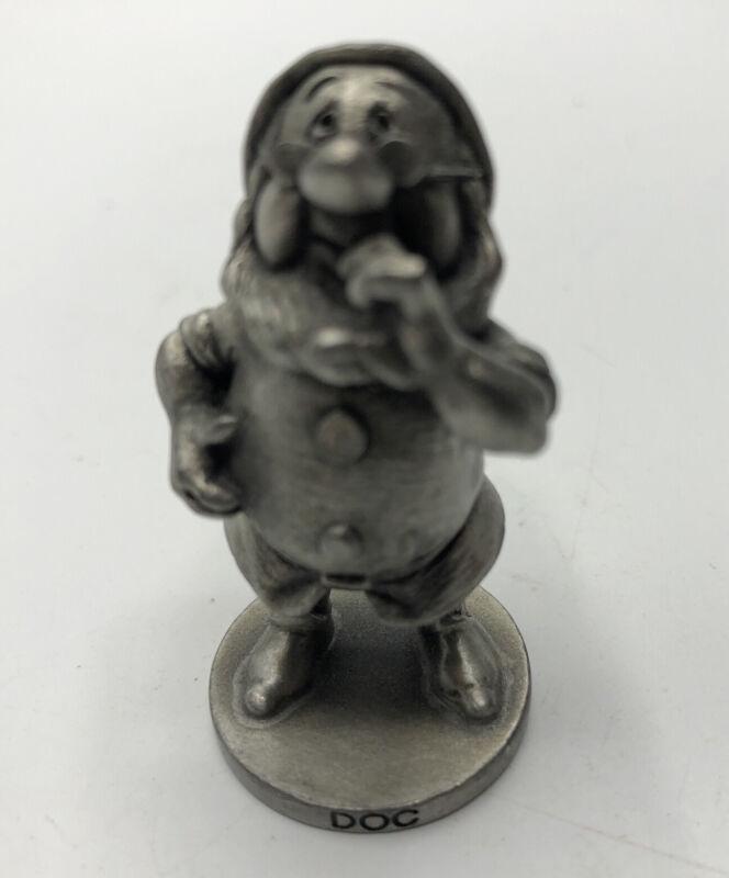 Doc Dwarf from Snow White Walt Disney Fine Pewter Schmid USA 0107