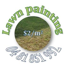 Lawn painting for just $2/sqm Sorrento Joondalup Area Preview