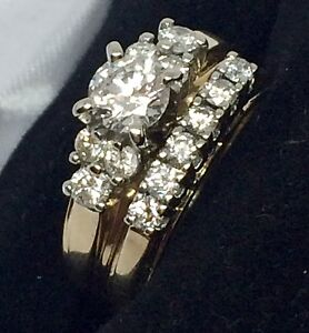 14k engagement set $1500