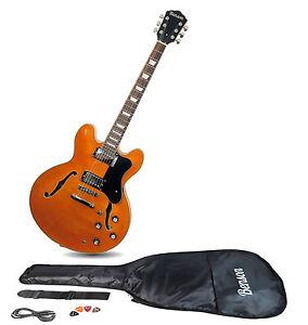 Benson B ES 335 1963 style Vintage semi acoustic electric guitar hollow body